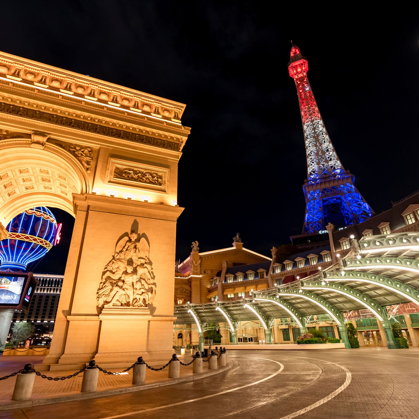 Paris Las Vegas reopens with a roster ...