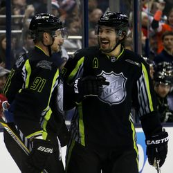 Stamkos and Drew Doughty in 2015