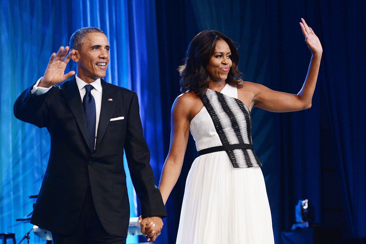 President and Mrs. Obama at the Congressional Black Caucus