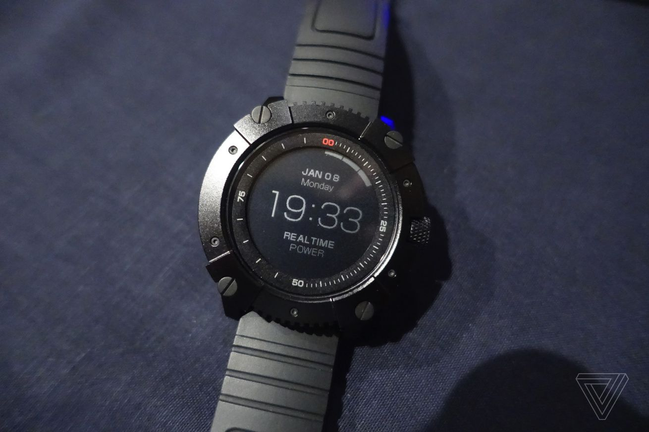 the powerwatch x is a smartwatch that runs off your body heat