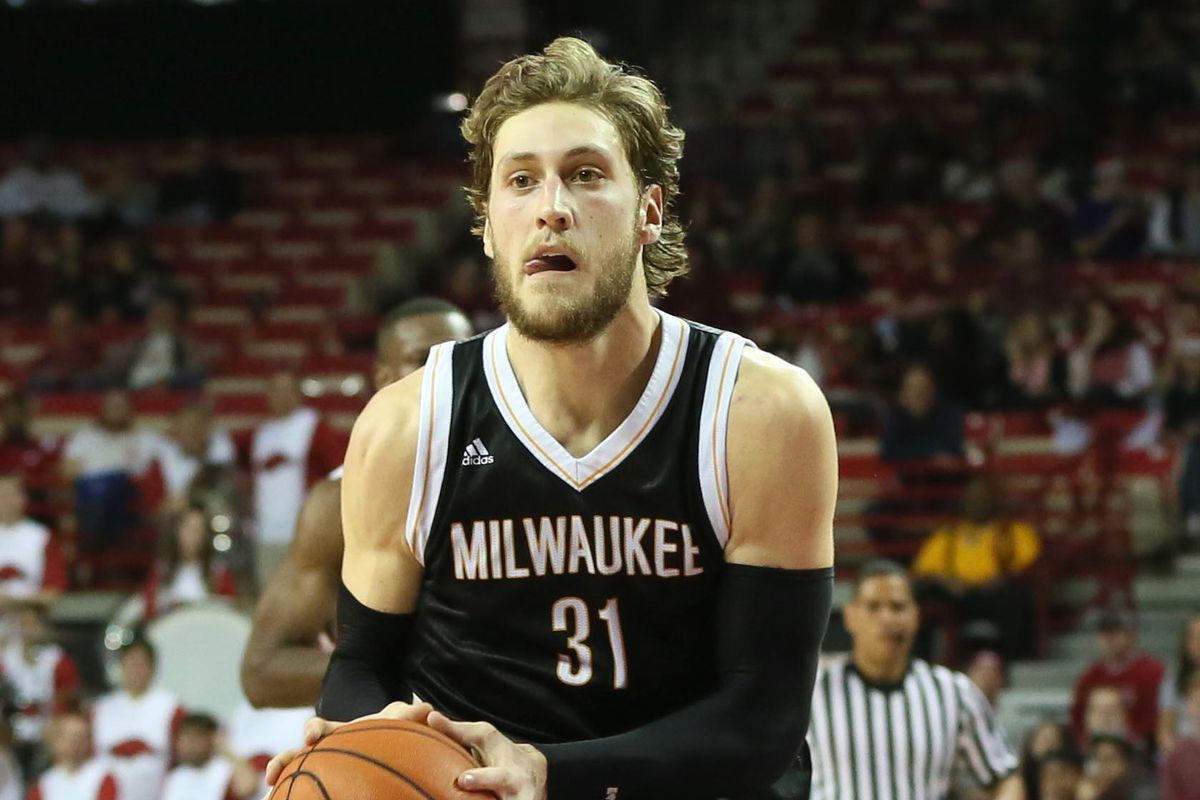 Matt Tiby led Milwaukee to a first round victory with a double-double.