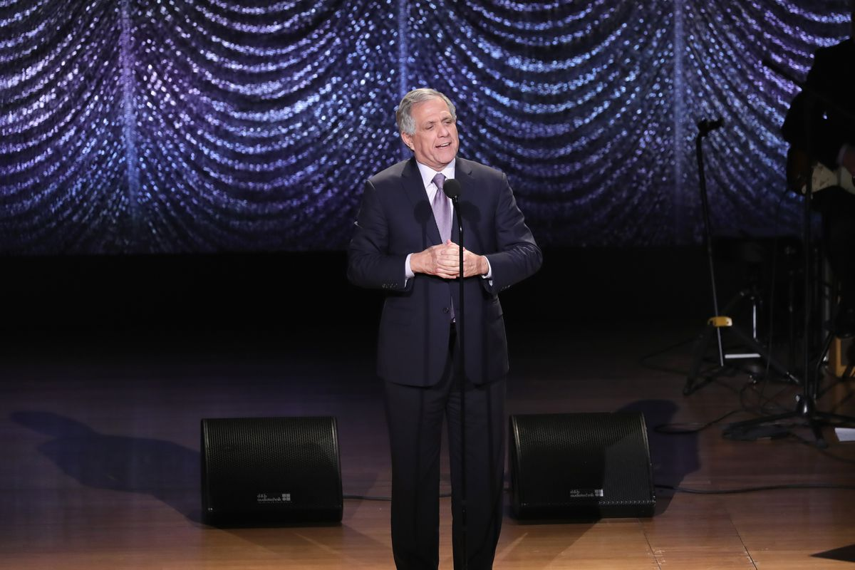 Les Moonves at an event at Lincoln Center in February 2017.