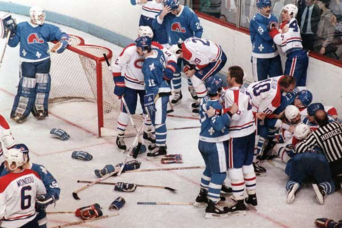The good friday massacre eyes on the prize the two teams were fierce rivals right from the entrance of the nordiques into the nhl via the 1979 whanhl merger during an era where french canada was geenschuldenfo Image collections