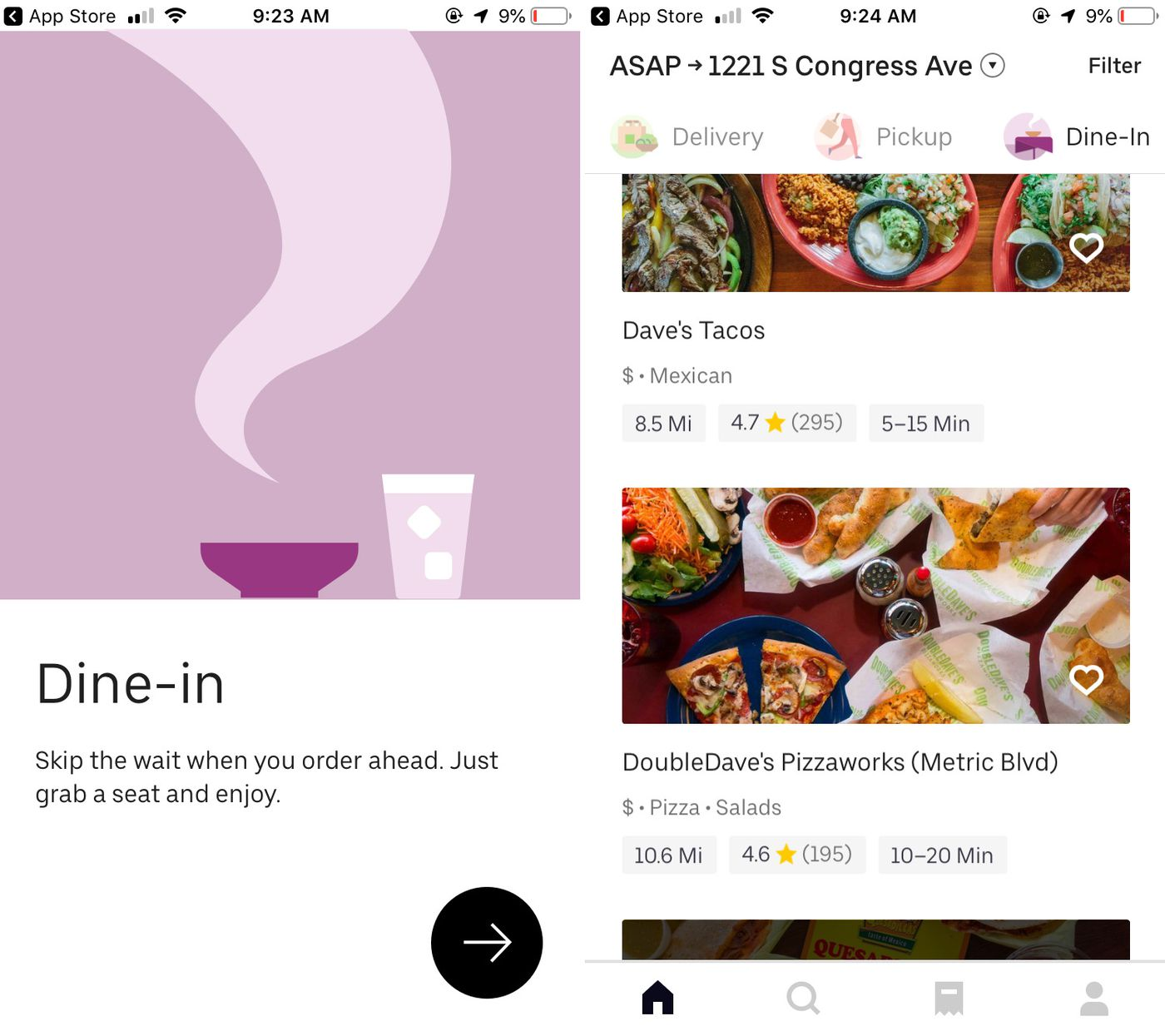 Uber Eats Tests New Dine In Option Allowing Customers To Pre Order Food Eater