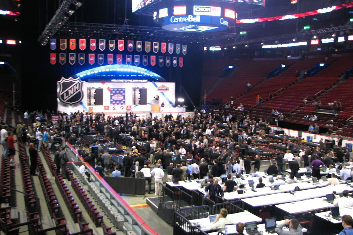 This could be the scene at the Wachovia Center sooner rather than later if the Flyers and Comcast-Spectacor have their way. We can spell 'NHL' correctly, though. (Photo Credit/Broad Street Hockey)