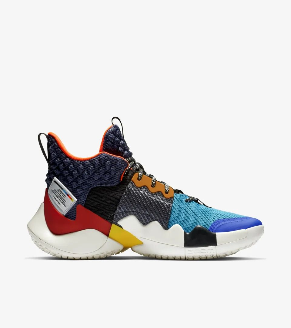 d94cb10ba87 The Russell Westbrook Why Not Zer0.2 Jordan Brand signature shoe has ...