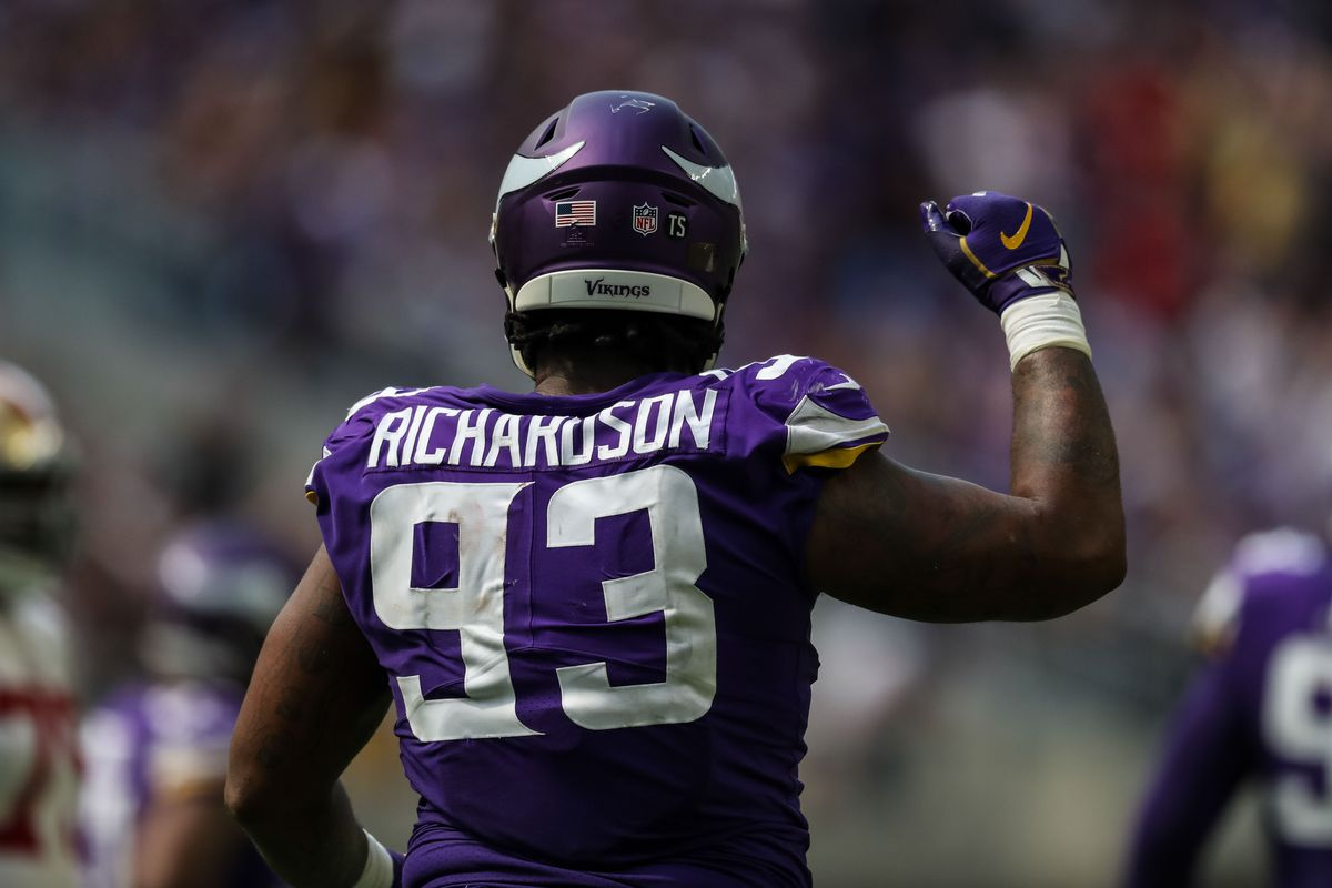 purchase cheap 8be84 b5b2e Report: Browns will sign DT Sheldon Richardson to start next ...