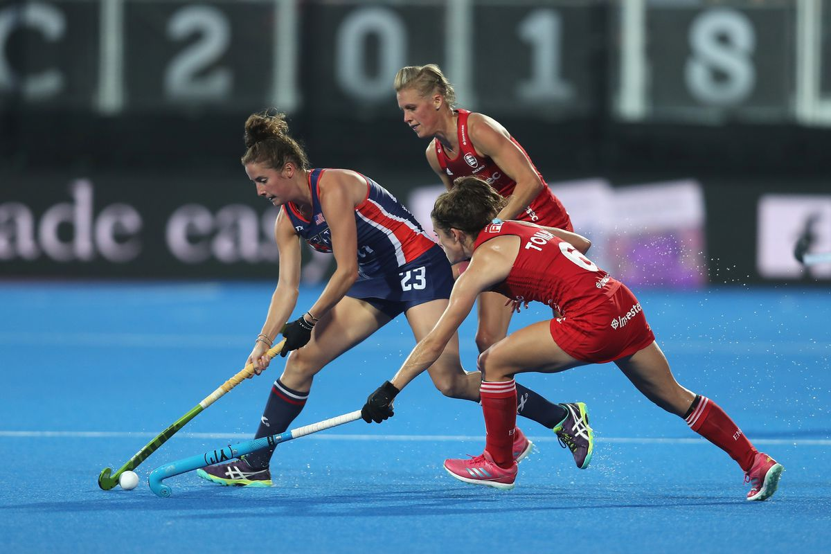 USA v England - FIH Womens Hockey World Cup