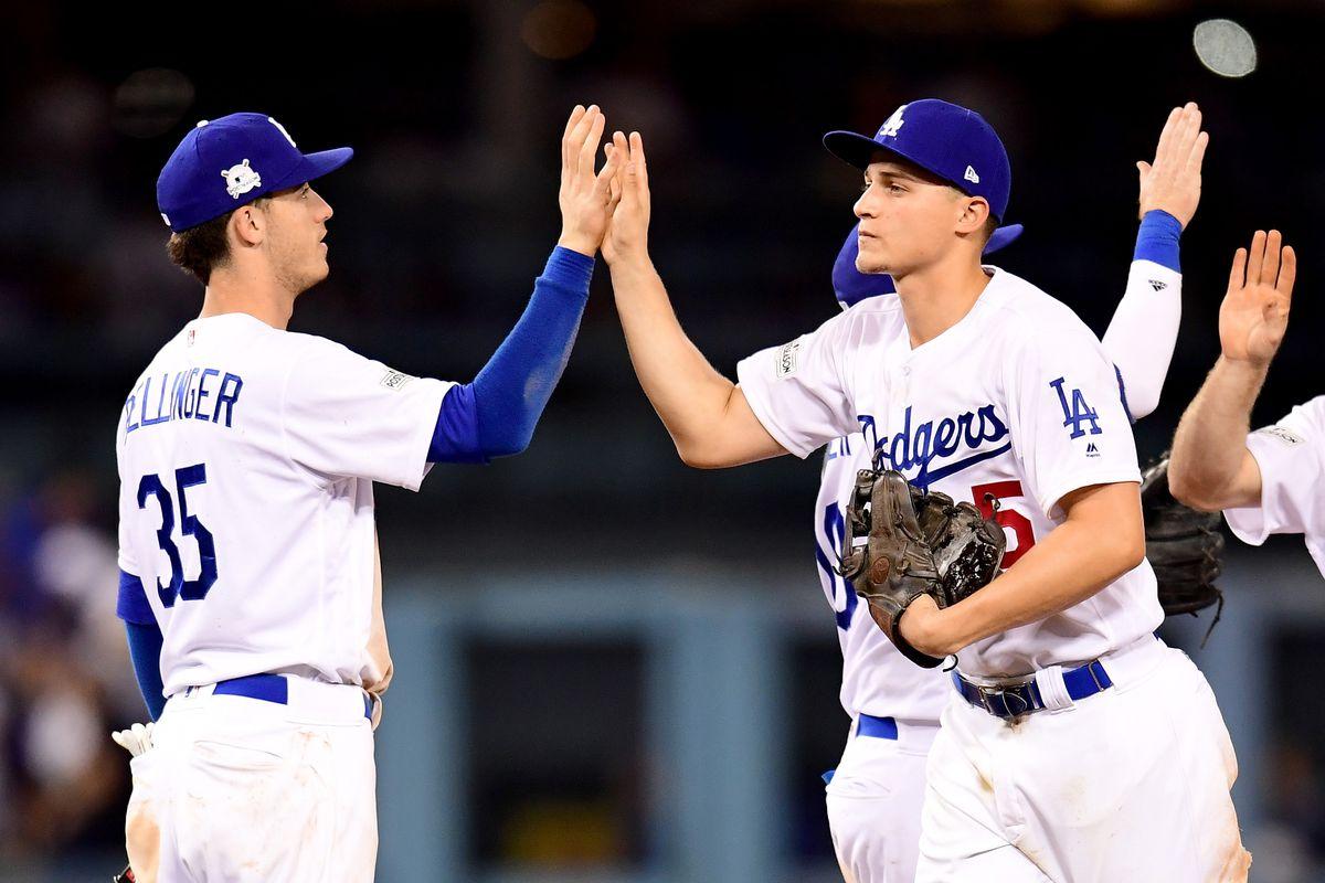 Arizona Diamondbacks v Los Angeles Dodgers - Game One