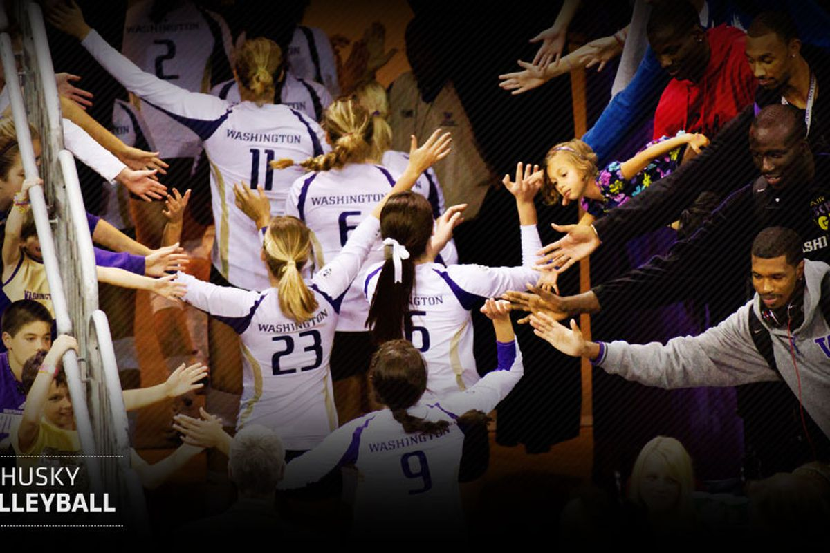 The Lady Huskies are off to a 3-0 start for the season.  Who are those guys giving high 5's?