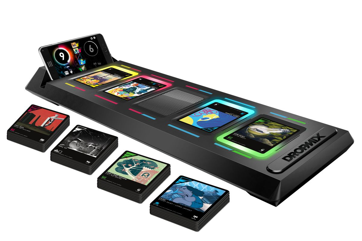 Harmonix's Dropmix is a weird but fun musical mashup card game - The