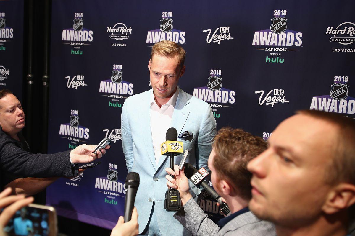 2018 NHL Awards – Nominee Media Availability