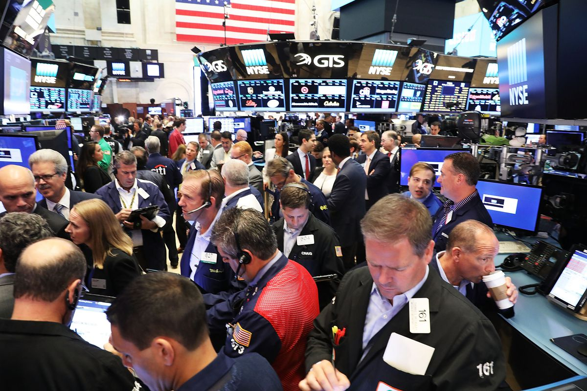 Stocks Open For Trading On The NYSE On Last Trading Day Of June