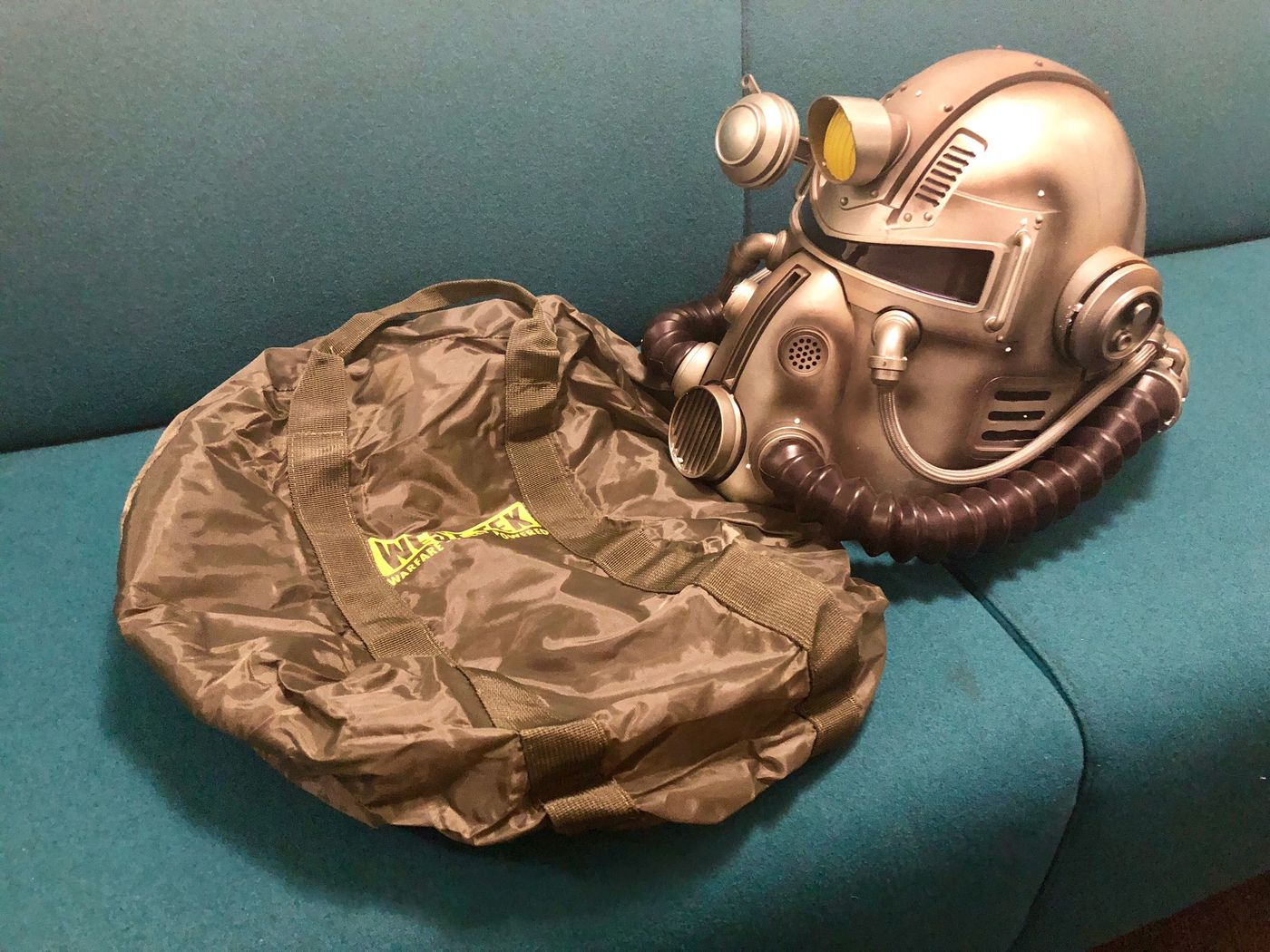 1598a7e28222 Bethesda to replace Fallout 76 Power Armor edition s nylon bags with canvas  upgrade (update) - Polygon