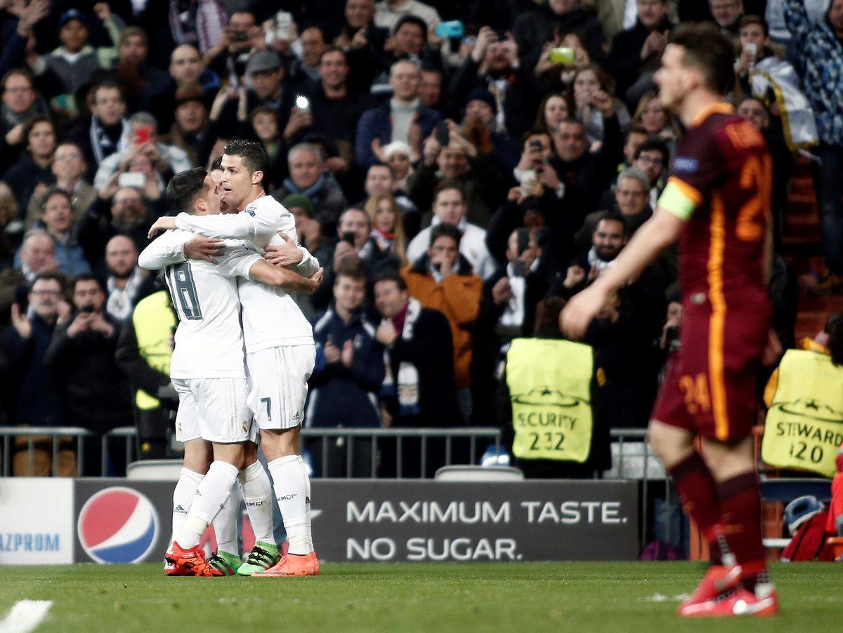 Real Madrid v AS Roma: UEFA Champions League