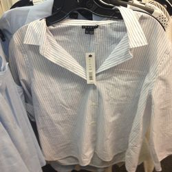 Theory cropped button-down, $35 (from $255)