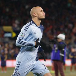 Collin put away his penalty in the tenth round to give SKC the lead.