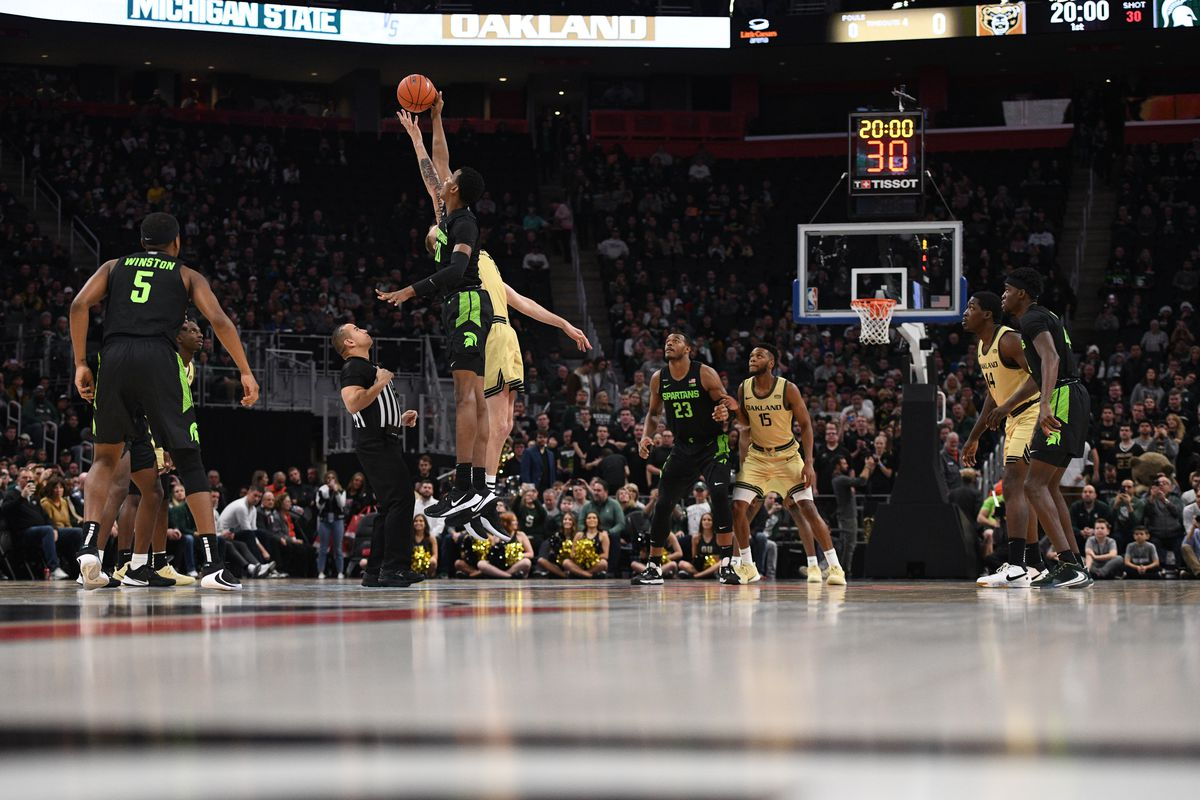NCAA Basketball: Michigan State at Oakland