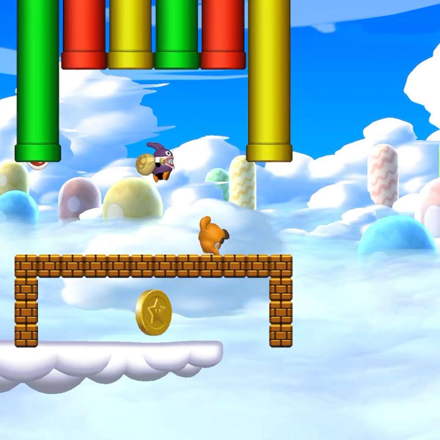 Meringue Clouds Star Coins Locations New Super Mario Bros U