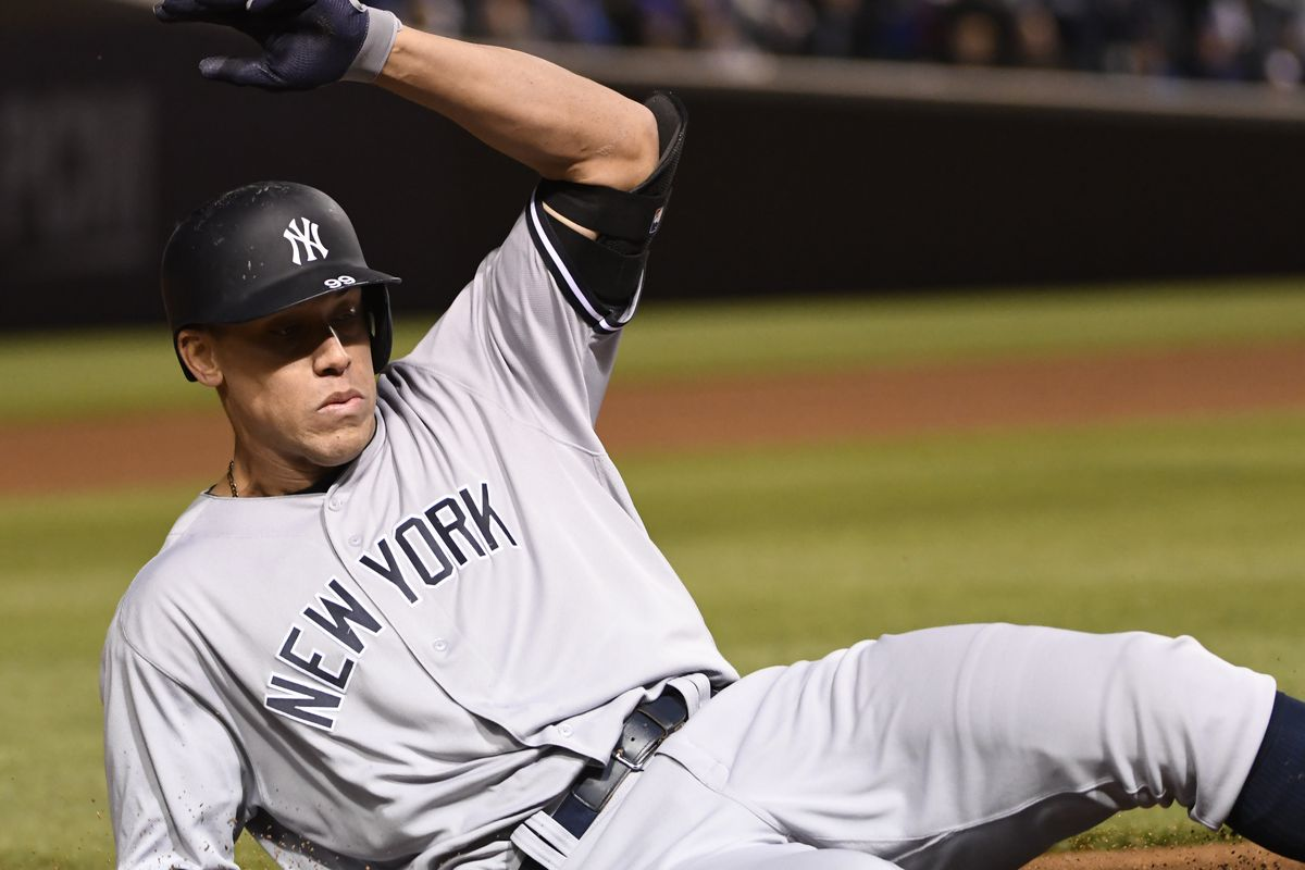 Image result for aaron judge steal