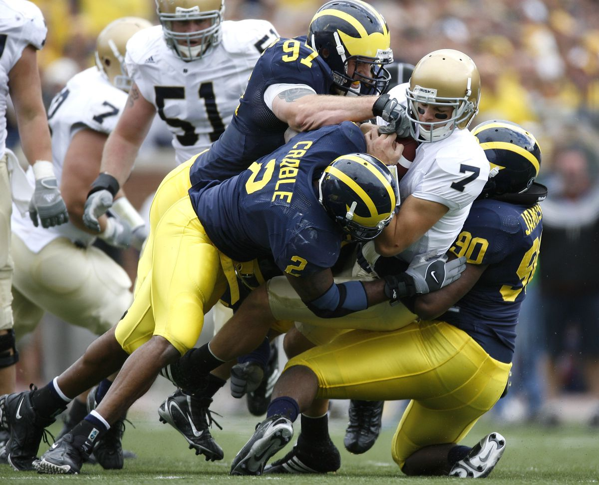 Notre Dame Fighting Irish v University of Michigan Wolverines