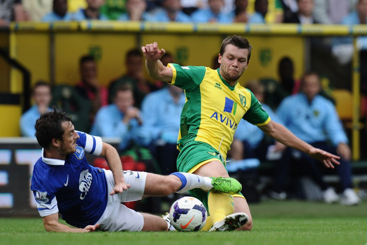 Paddy Davitt says keeping Leighton Baines quiet is one of the keys for Norwich this weekend.