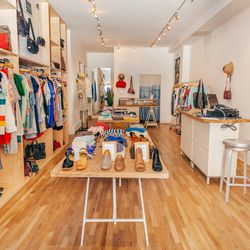 """<b>↑</b> <a href=""""http://www.achengshop.com/"""">A. Cheng</a></b> (466 Bergen Street) embodies Park Slope style: it's understated, classic and pared-back, with a touch of cool—and it's all beautifully made. This is the store for enhancing your wardrobe with"""
