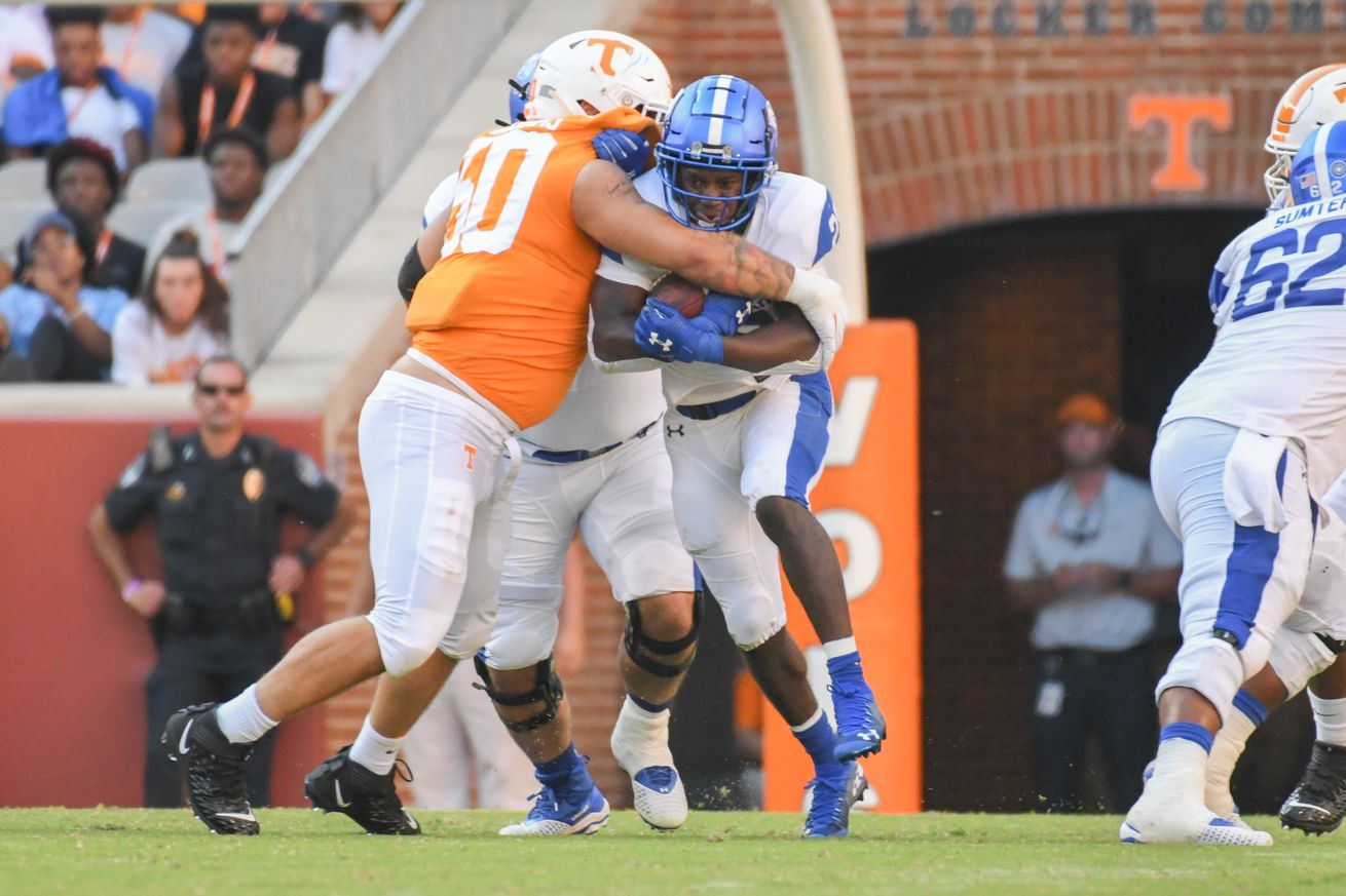 NCAA Football: Georgia State at Tennessee