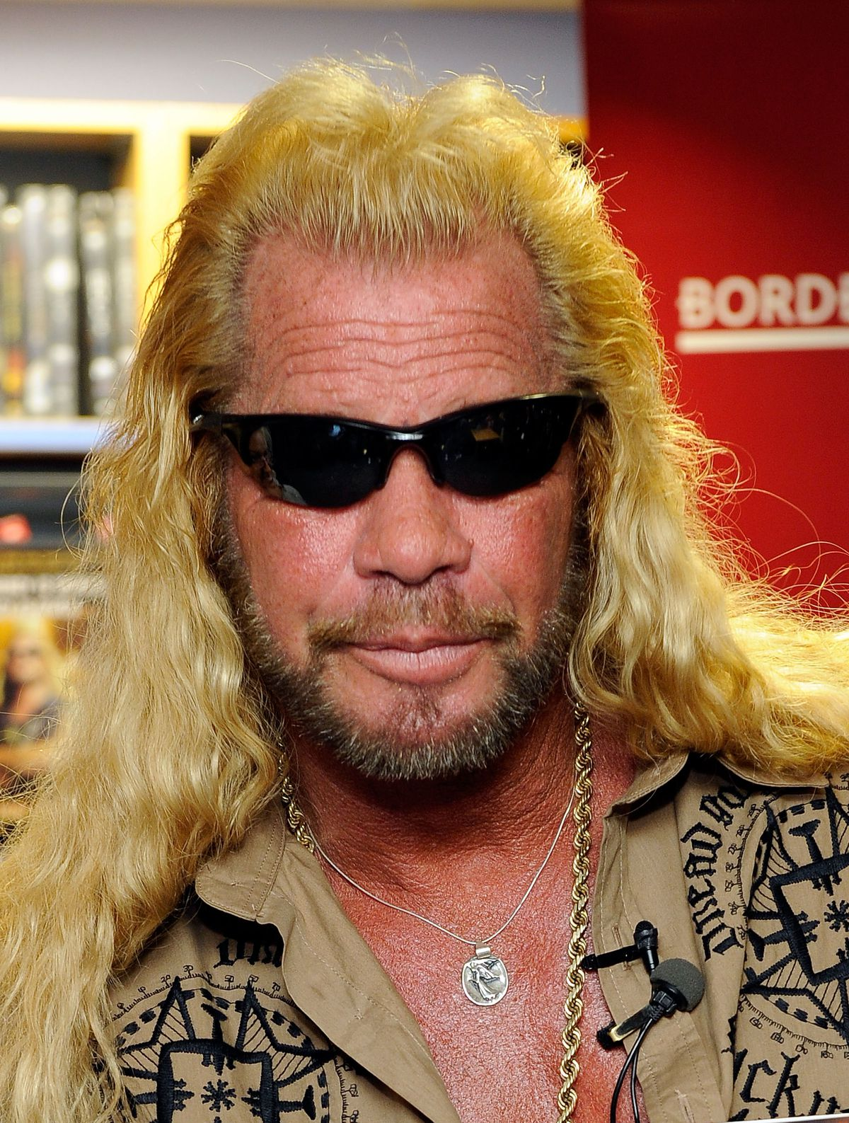 Duane Chapman Signs Copies Of 'When Mercy Is Shown, Mercy Is Given'