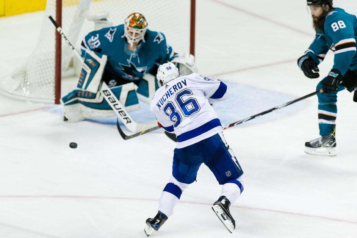 NHL: Tampa Bay Lightning at San Jose Sharks