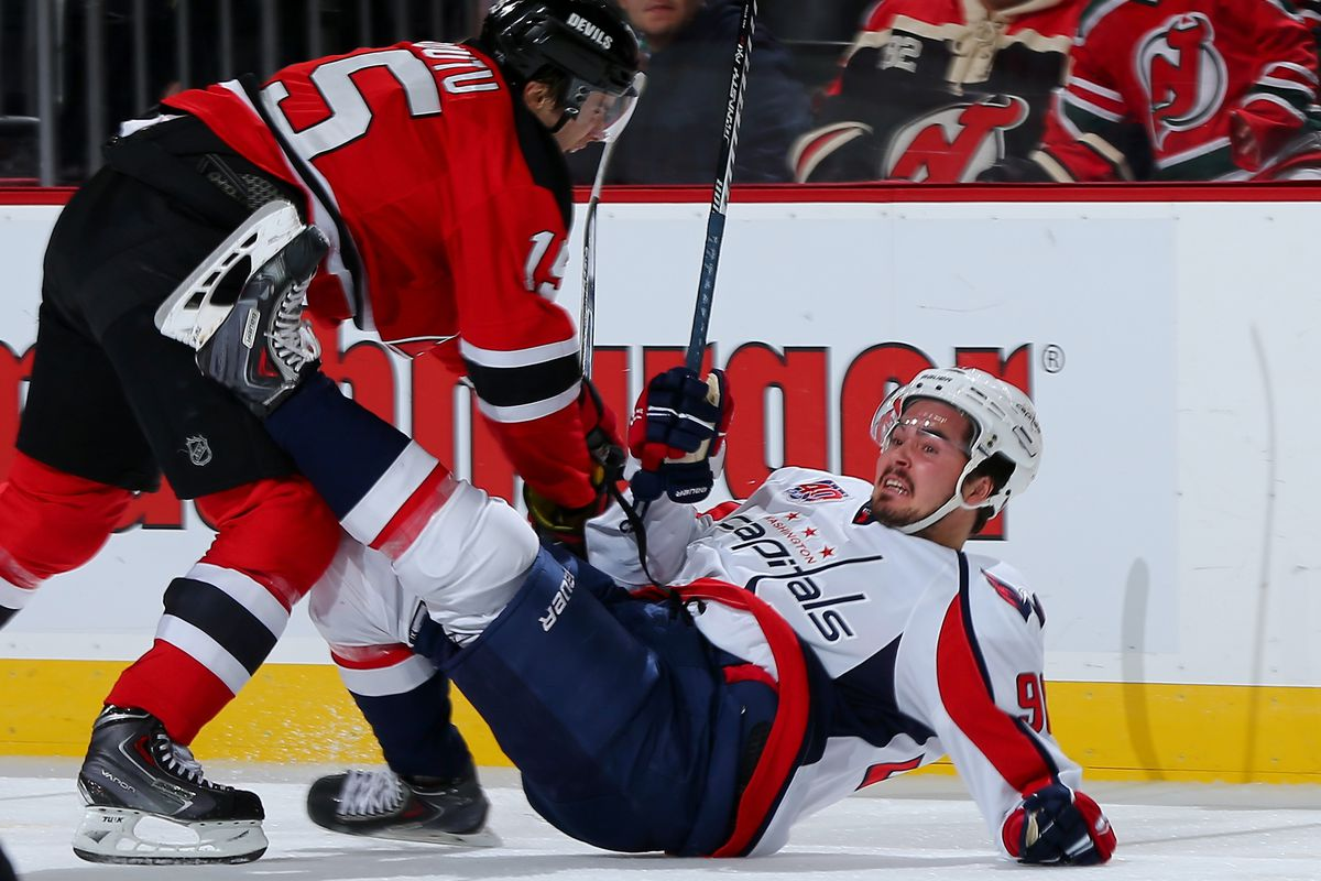 Ruutu and the Devils take on the Capitals in DC tonight.