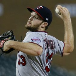 Stewart has spent several years working his way through the minor leagues. Despite rumors this time last year that he would ditch baseball to return to A&M and try to  be a QB again, he stayed with the Twins, even making his major league debut in August. He's expected to battle for a spot in the Twins' starting rotation this spring.