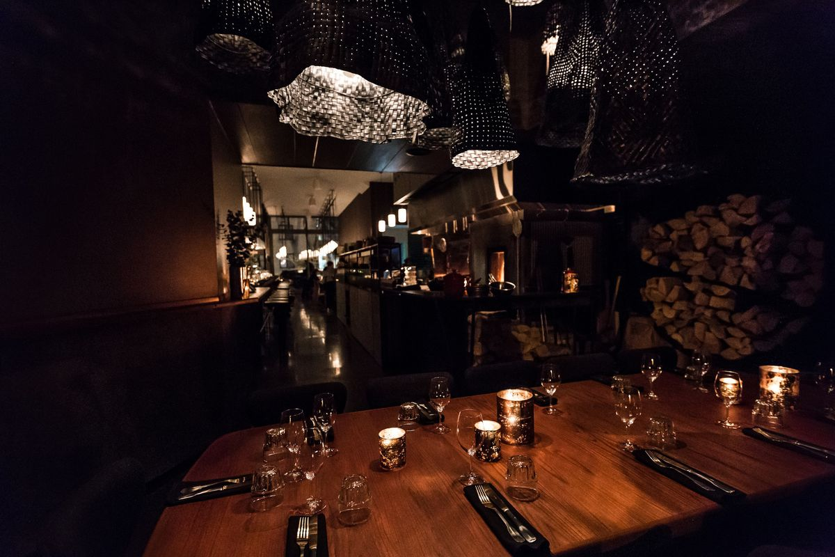 Feast Your Eyes on Foxy, the Fiery New Restaurant Now Open in Griffintown