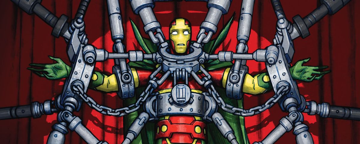 From the cover of Mister Miracle #1, DC Comics (2017)