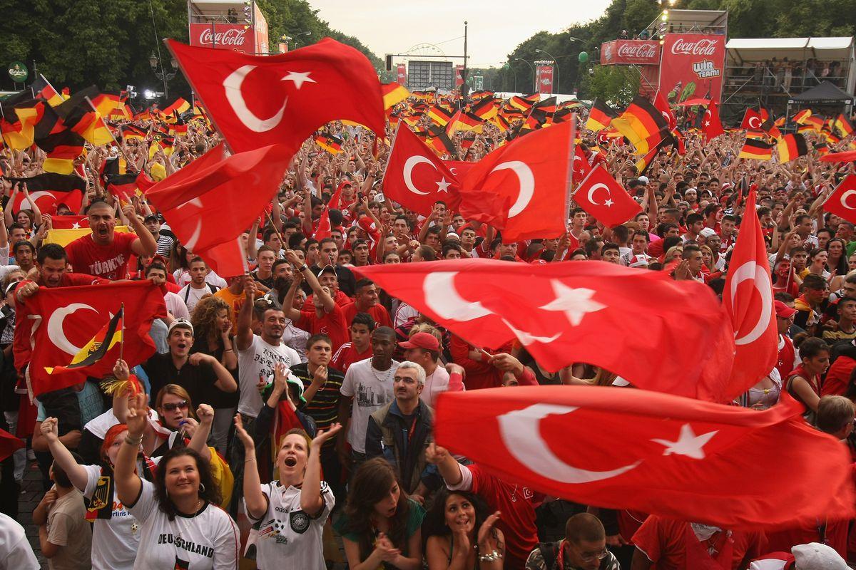 EURO 2008 - Public Viewing Germany v Turkey