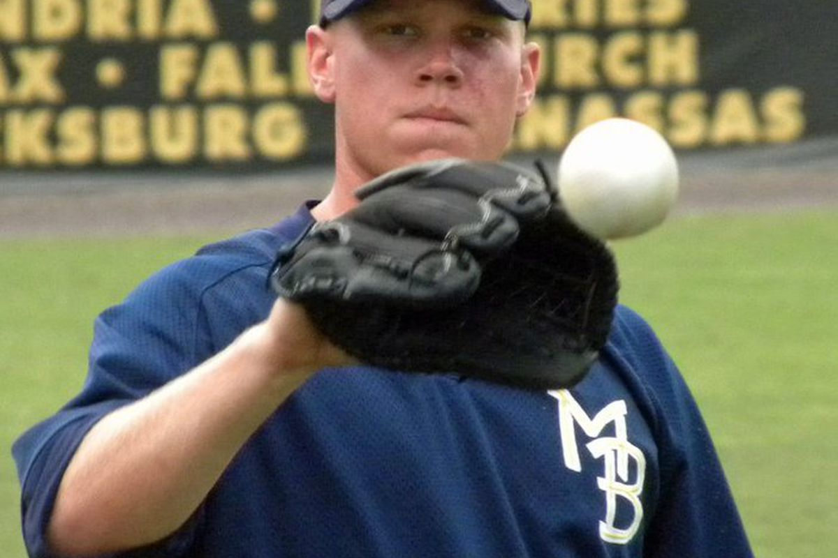 Brett Oberholtzer struck out 12 over 5 innings for the Pelicans tonight.