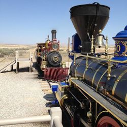 The Golden Spike National Historic Site is a fun and educational place to visit.