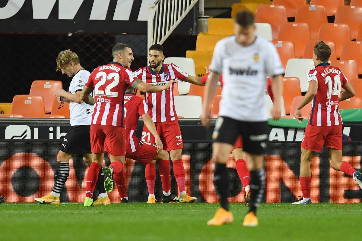 Valencia CF v Atletico de Madrid - La Liga Santander