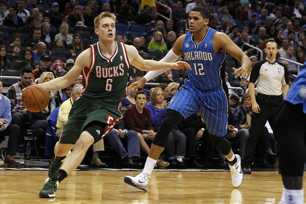 Nate Wolters and Tobias Harris