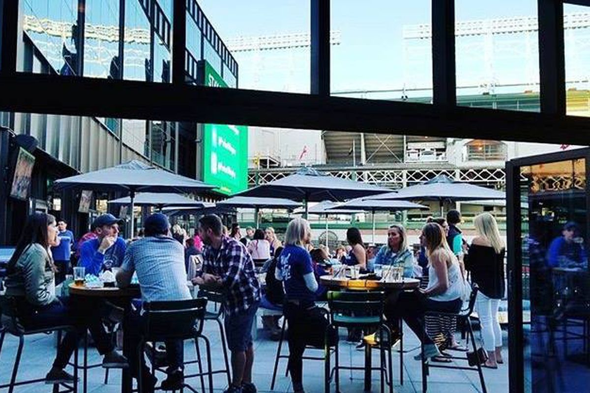 Cubs Owners New Open Air Restaurant Bar Opens Today At
