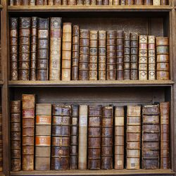 The Upper Library at Christ Church, Oxford University, in Oxford, England on Thursday, June 15, 2017. Some books date back to the 9th century.