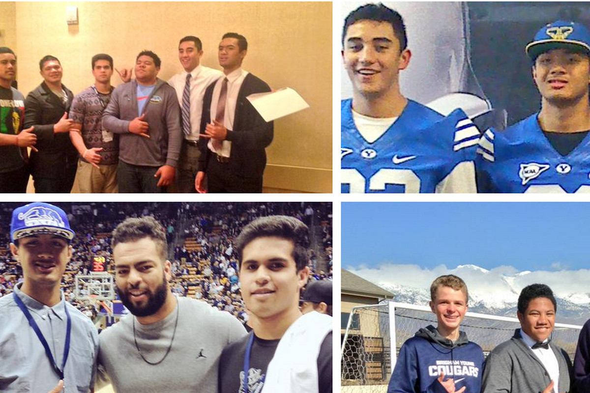 Mufi Hunt was one of many players to tweet about their BYU visit.