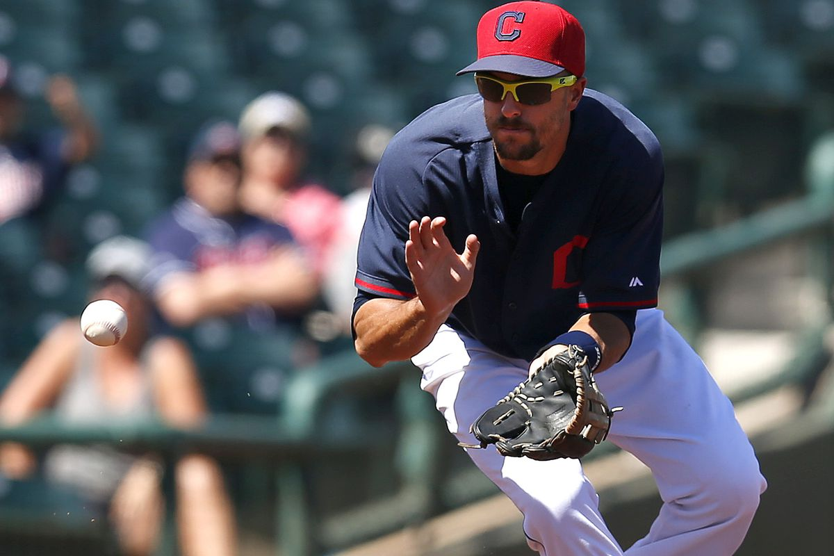 Lonnie Chisenhall committed two errors, one of which led to an unearned run.