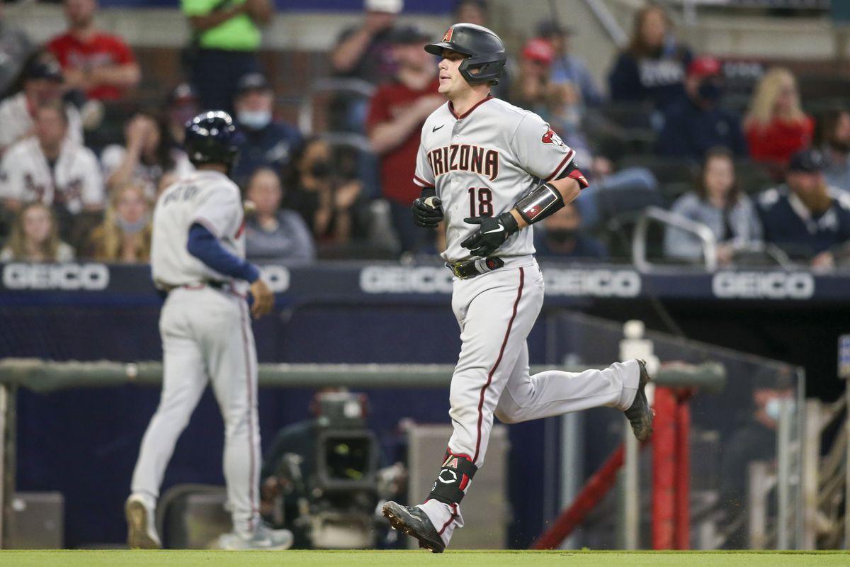 MLB: Arizona Diamondbacks at Atlanta Braves