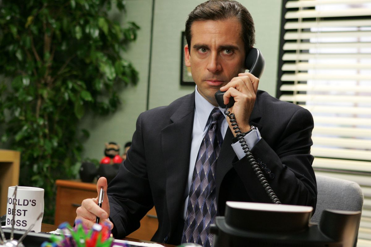 """Actor Steve Carell appears in the television series """"The Office."""""""