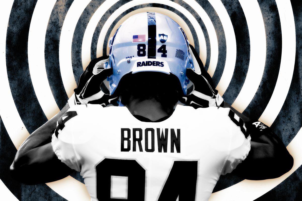 separation shoes 1f9bb a77ce An Idiot's Guide to the Antonio Brown Helmet Grievance - The ...