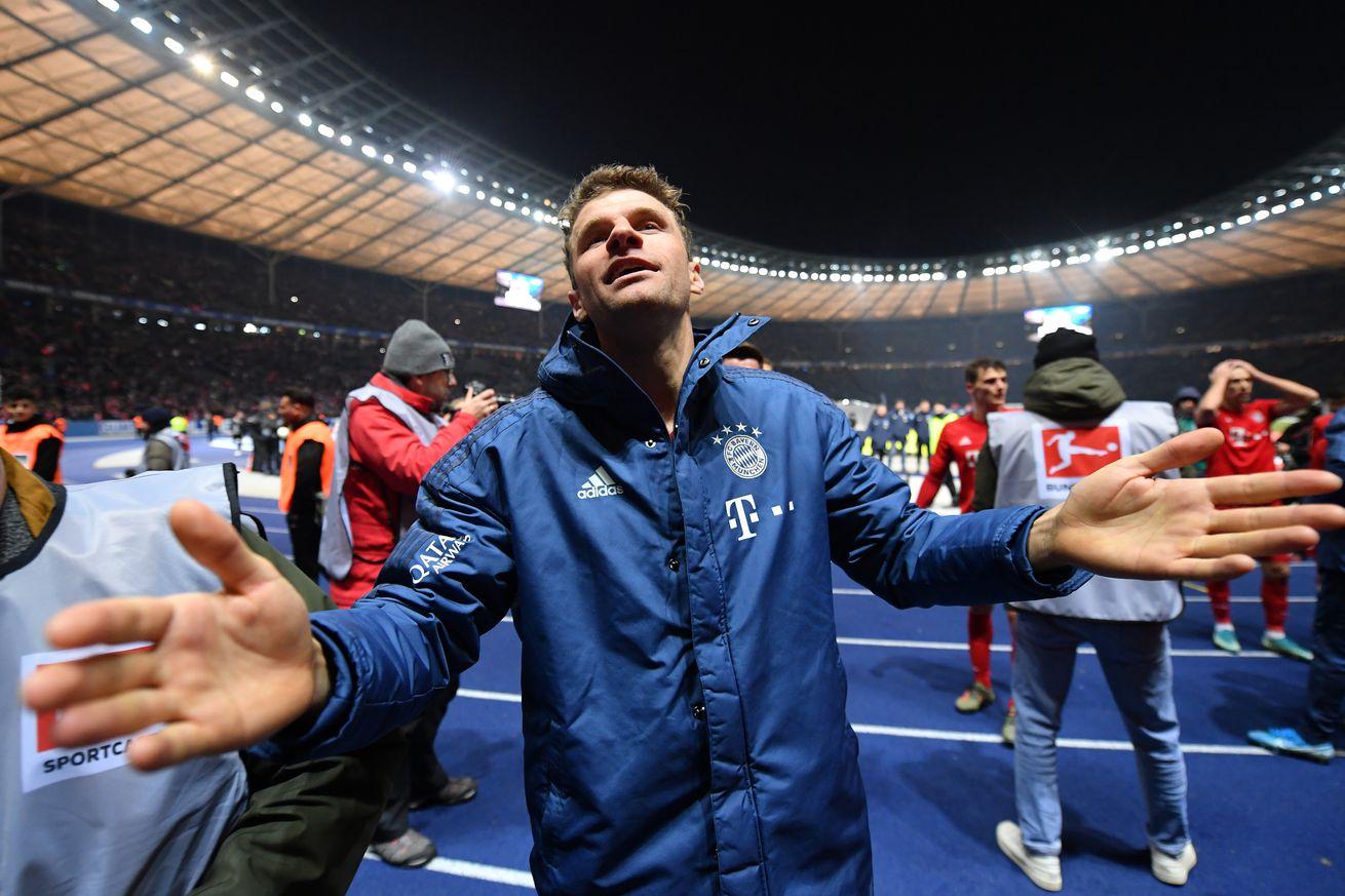 Thomas Muller reflects on Bayern?s 4-0 win over Hertha Berlin