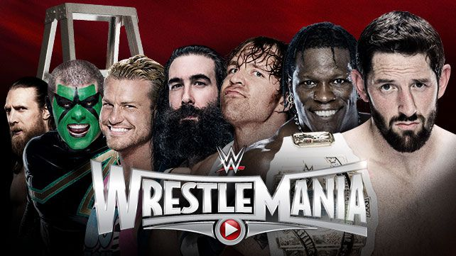 Wrestlemania 31 ladder match