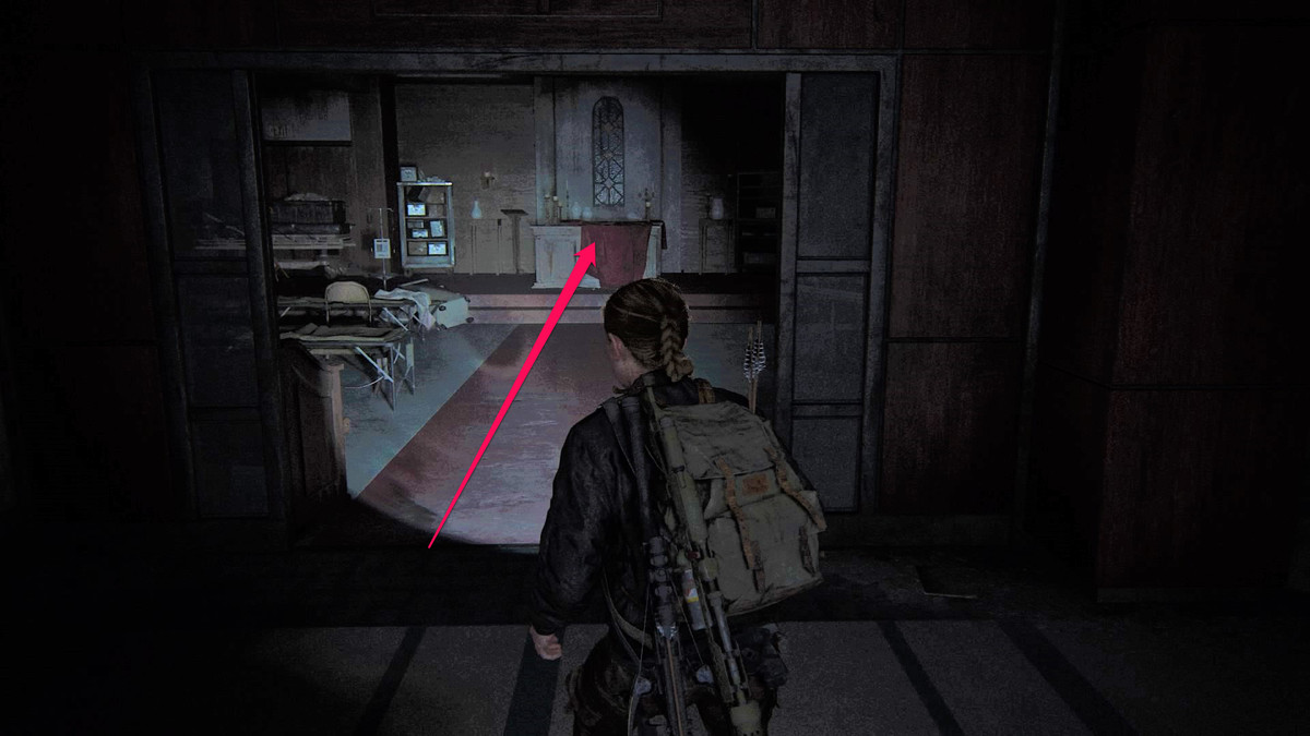 The Last of Us Part 2 Seattle Day 2 Abby Ground Zero Chapel Note Artifact