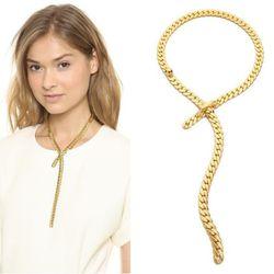 "<b>Fallon</b> Classique Lariat Necklace, <a href=""http://www.shopbop.com/classique-lariat-necklace-fallon-jewelry/vp/v=1/1521084692.htm?fm=search-viewall-shopbysize"">$125</a> at Shopbop"